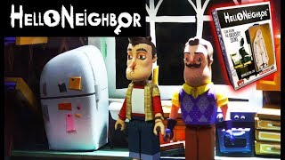 Hello Neighbor Mcfarlane Toys Toy Fair 2018 Lego House Living Exclusive FEAR Room