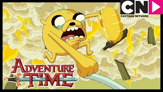 Adventure Time | Jake Gets Emotional! | Time Sandwich | Cartoon Network