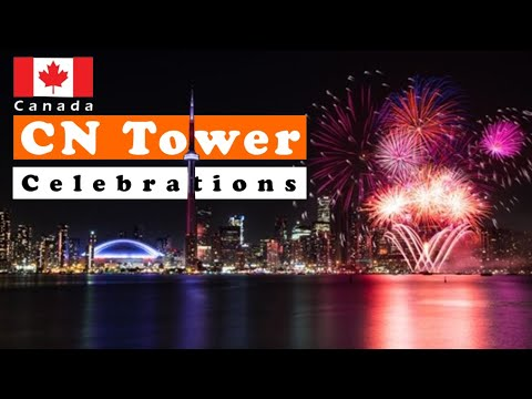 Canada Day 150 | CN Tower Fireworks Toronto (2017)