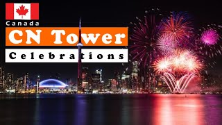 Cn Tower Canada Day Celebrations | Toronto Fireworks