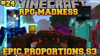 Minecraft : RPG MADNESS - Terran Boss Battle Mists of Riov - Ep. 24 : Let