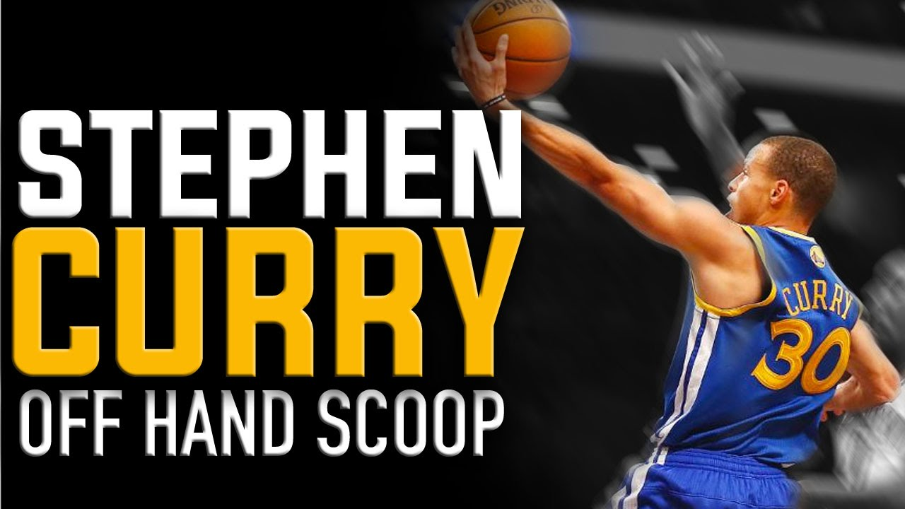 Stephen Curry Scoop Finish | NBA Basketball Moves - YouTube