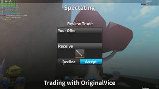 SHOUTOUT TO ORIGINALVICE!! *Free Exotic*(Roblox Assassin)