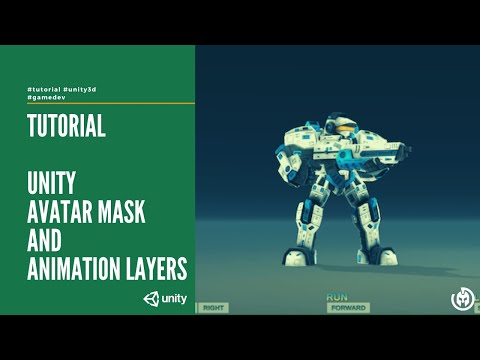 Unity Avatar Mask and Animation Layers | Diego Giacomelli | programmer