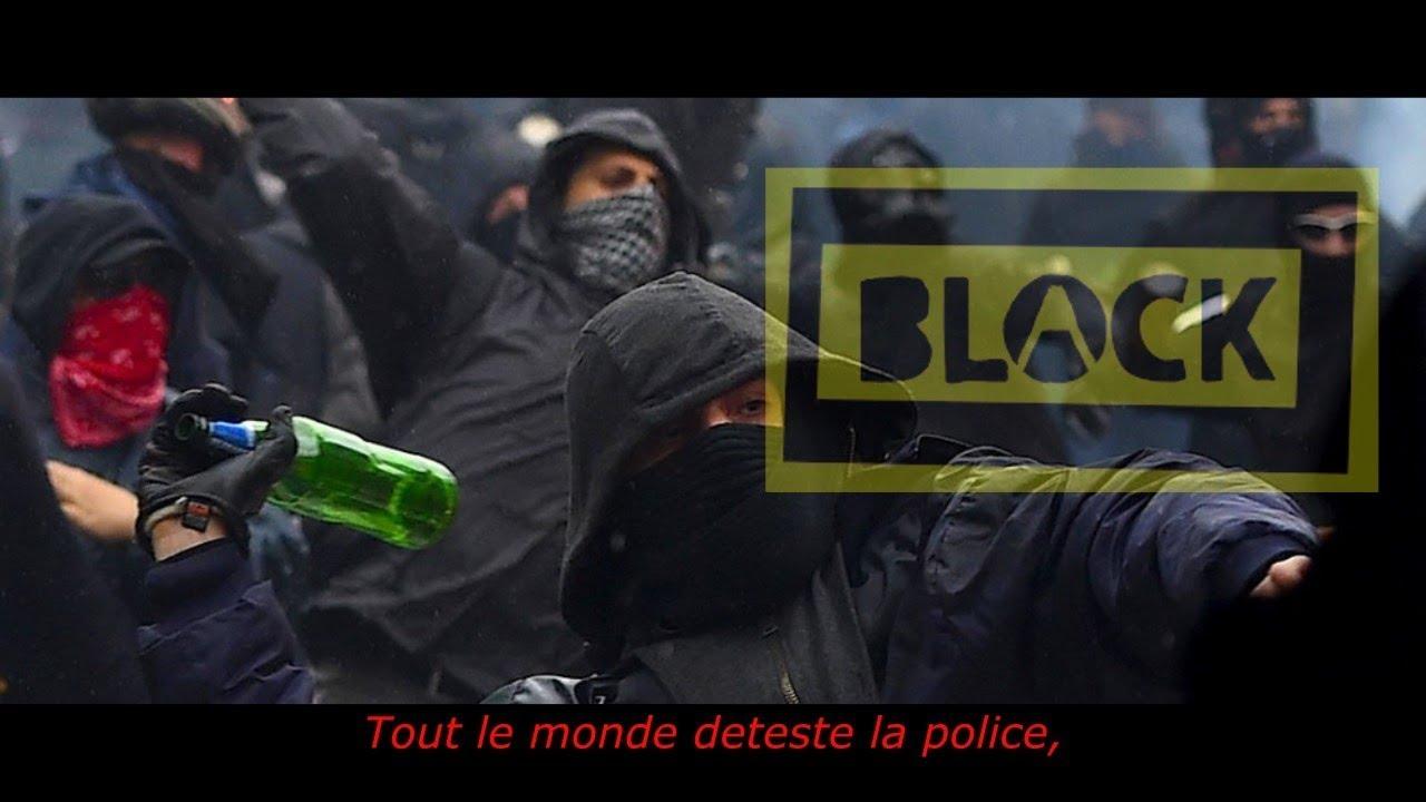 Black Block A Paris Mai18 Youtube