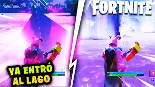 THE CUBE ALREADY ENTERED RAFT LAKE LOOT AND TRANSFORMED FORTNITE DOES THAT FOLLOW?