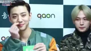 (Arabic Sub) STAR! B.A.P Interview Gaon Chart Awards
