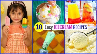 Easy HOME MADE Ice Creams during SUMMERS | CookWithNisha