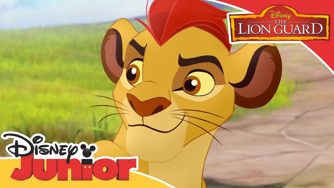 the lion guard kion uses his roar official disney junior africa