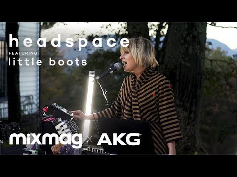 LITTLE BOOTS LIVE from Allaire Studios | HEADSPACE by AKG and Mixmag
