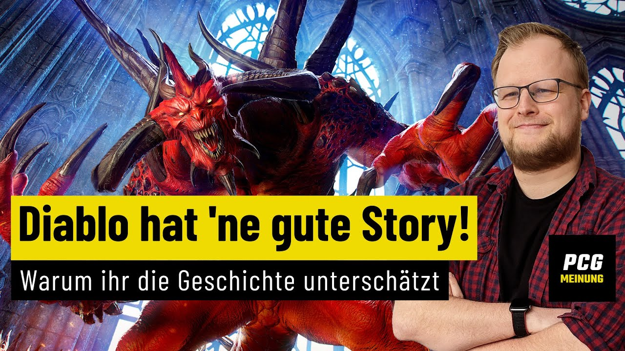 Ich spiele Diablo wegen der Story!   MEINUNG   Warum die Höllengeschichte unterschätzt wird
