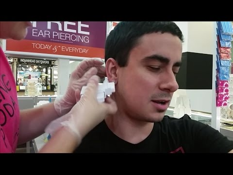 Piercing Pagoda Full Ear Piercing Experience Up Close & Goodie Bag. Eau Claire, WI  Oakwood Mall