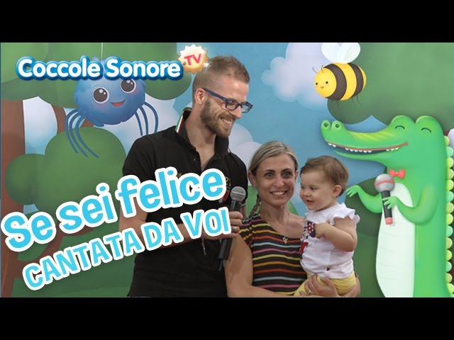 Mb download mp3 se sei felice cantata dalle for Coccole sonore la danza del serpente