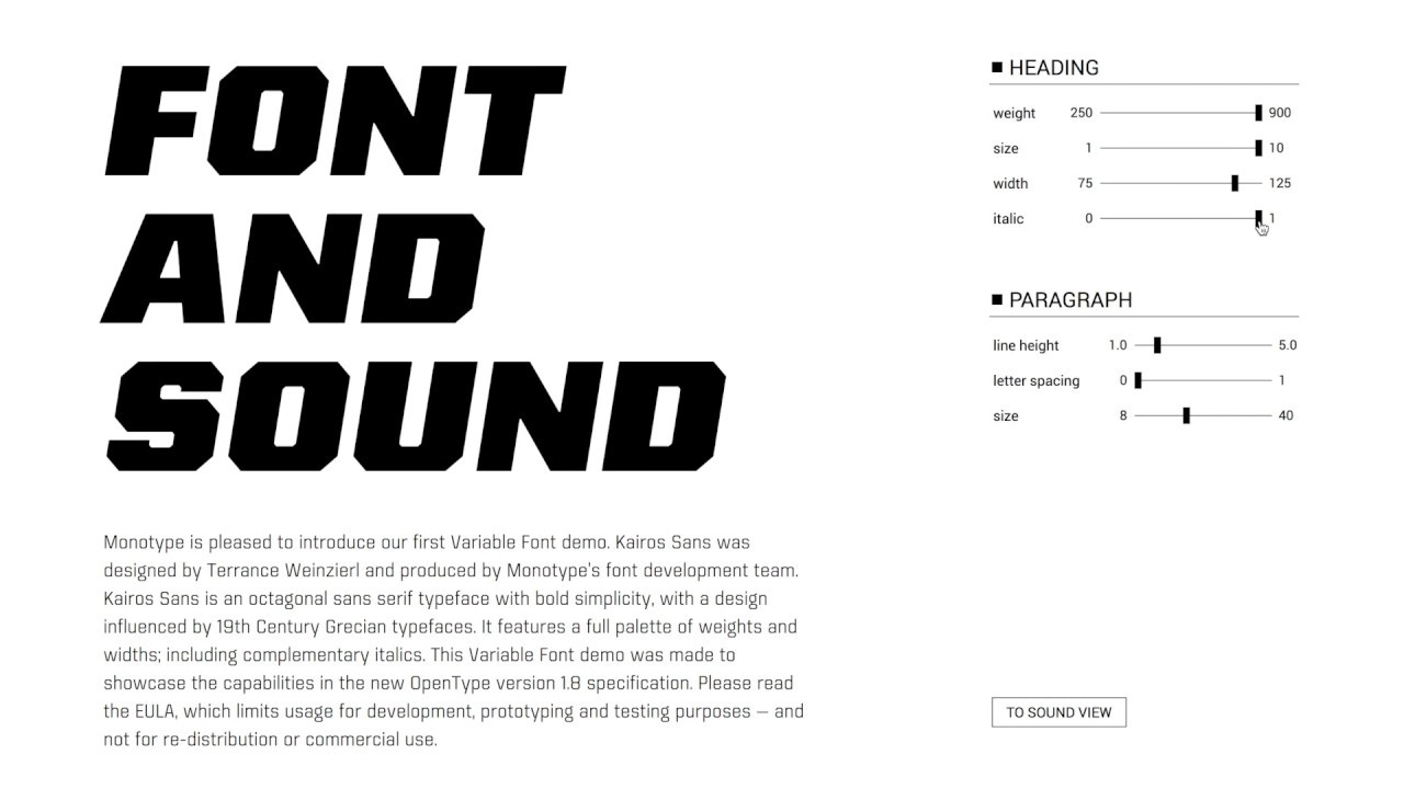 Font and Sound - Vince MingPu Shao