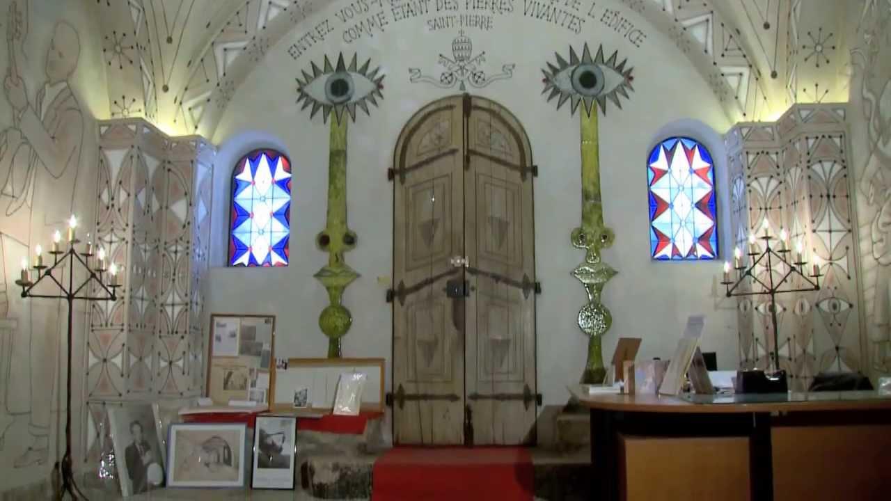 Cocteau et la chapelle de villefranche les anges et la for Garage ad la chapelle bouexic