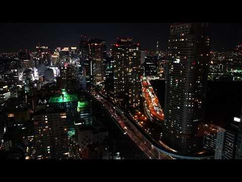 [4K UHD] Night view of Minato City, Tokyo / 東京・港区の夜景