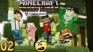 minecraft story mode episdio 1 parte 2 com comentrios legendas pt br