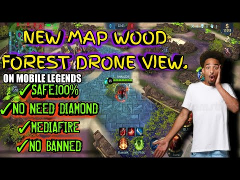 NEW MAP WOOD FOREST ON MOBILE LEGENDS, NAPAKA LUPIT NITO| NO BANNED| SAFE100%| LEGIT2020✓✓
