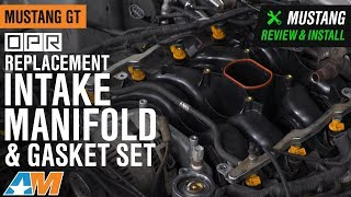 1996-1998 Mustang GT OPR Replacement Intake Manifold & Gasket Set Review & Install