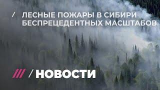 Как Сибирь страдает от пожаров, наводнений и властей