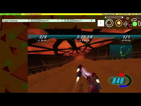 Star Wars: Episode I - Racer - Zugga Challenge (FT) (3-Lap 4:23.452) (1-Lap 1:26.861) |