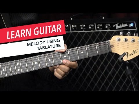 Beginner Guitar Lessons: How to Play a Melody Using Tablature | Guitar | Lesson | Beginner
