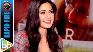 Katrina Kaif's HILARIOUS Rapid Fire On Baar Baar Dekho | Ek Tha Tiger 2 | Dhoom 4