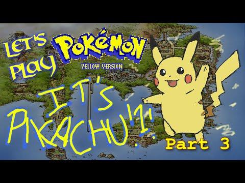 Let's Play Pokémon Yellow PT3 - Brock Rocked