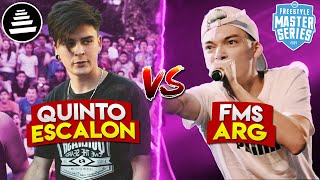 QUINTO ESCALON VS FMS ARGENTINA 😱