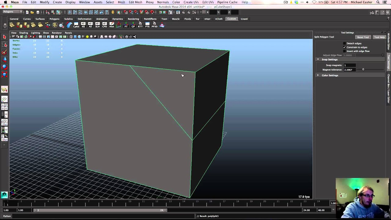 Splitting Polygons Youtube