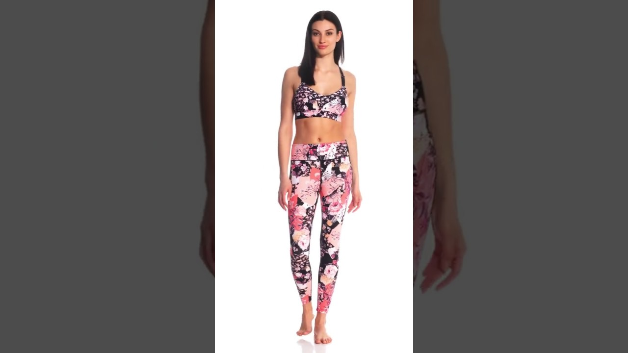 7ce45bee7dd1f Seafolly Women s Ocean Rose Dance Bralette Fitness Top