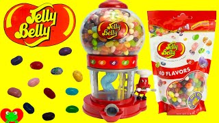 Jelly Belly Bean Machine LEARN Colors and Sorting with Jelly Beans