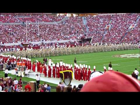 Texas A&M Band Halftime at Alabama vs. Texas A&M game 11-10-2012