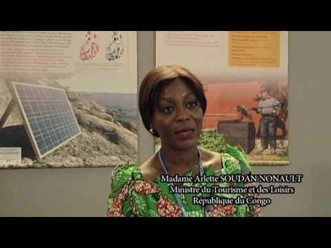 Interview de Madame la Ministre Arlette SOUDAN NONAULT-Marrakech 2016 COP22