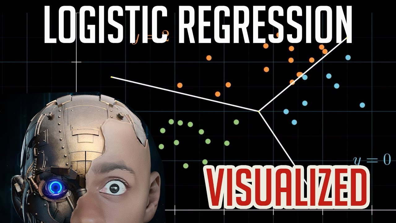 Logistic Regression - VISUALIZED!