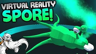"""""""SPORE IN VIRTUAL REALITY?!?"""" - Evolution VR Gameplay Let"""