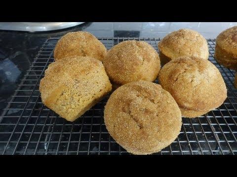 Speculaas Doughnut Muffins