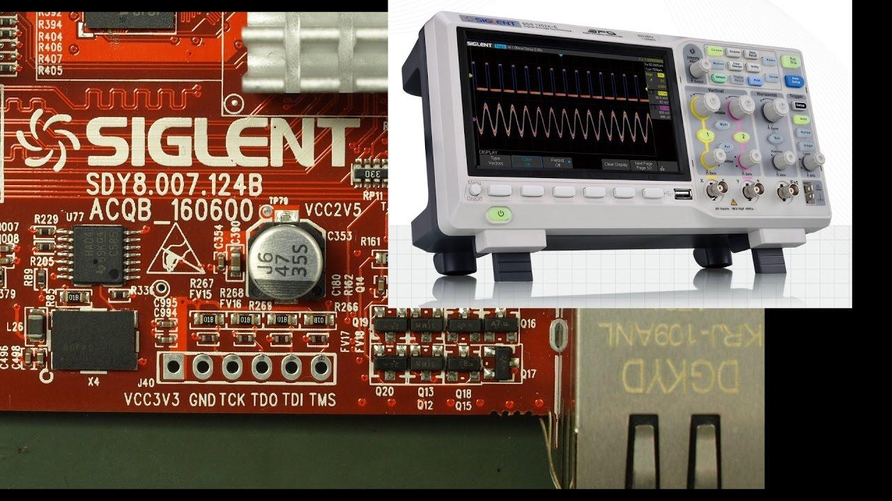 EEVblog #985 – Siglent SDS1202X-E Oscilloscope Teardown