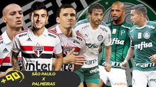 SÃO PAULO X PALMEIRAS: QUAL O MELHOR TIME? - MANO A MANO