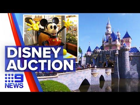 Disney memorabilia auctioned in celebration of 65th birthday   9 News Australia