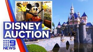 Disney memorabilia auctioned in celebration of 65th birthday | 9 News Australia