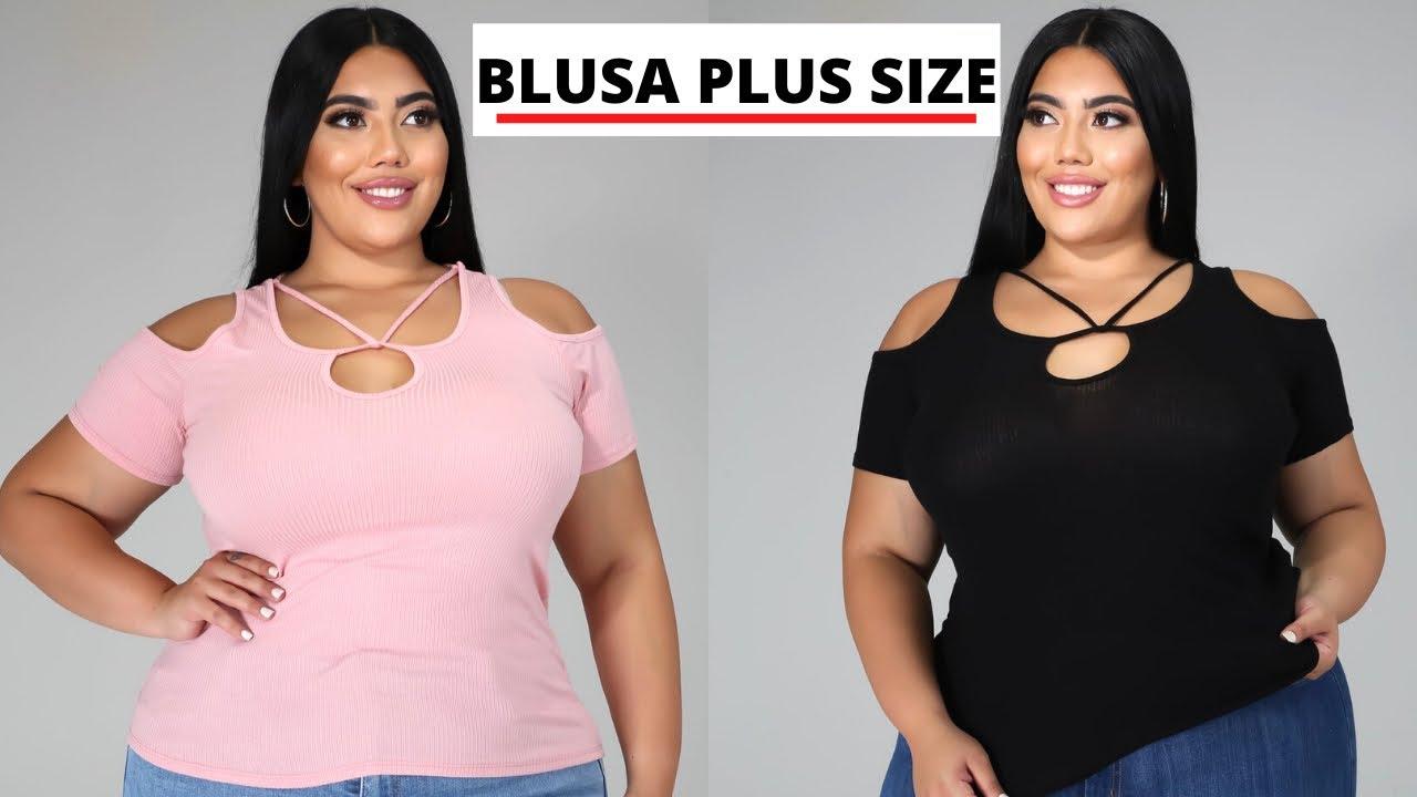 BLUSAS de MODA 2020 👚👚 NUEVAS BLUSA TALLA GRANDE  #shorts