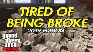 GTA 5 Online - Are You Tired of Being Broke? ***100% SOLO***
