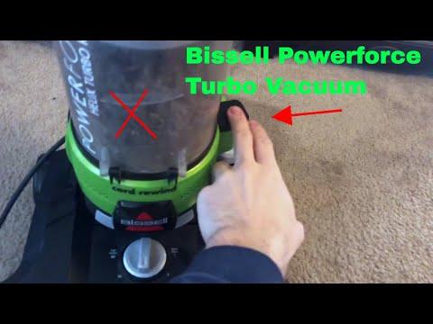 Bissell Powerclean Rewind Bagless Vacuum 1327
