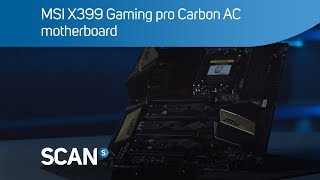 MSI X399 Gaming Pro Carbon AC motherboard for Threadripper CPU's - Overview