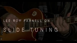 Lee Roy Parnell On Slide Tuning • Wildwood Guitars Interview