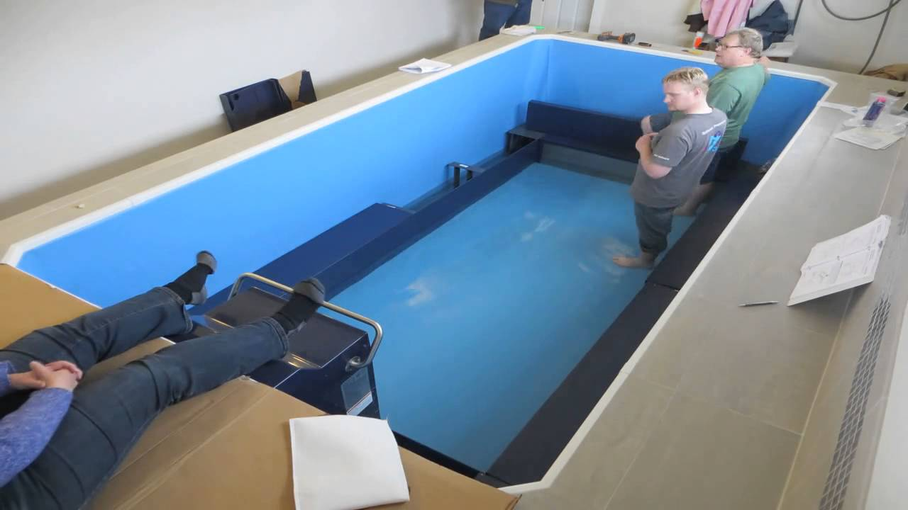 Building An Endless Pool Timelapse Part 2 Youtube