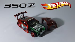 NISSAN 350Z DRIFT HOT WHEELS CUSTOM