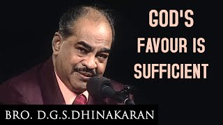 God's Favour Is Sufficient (English - Telugu) | Dr. D.G.S. Dhinakaran