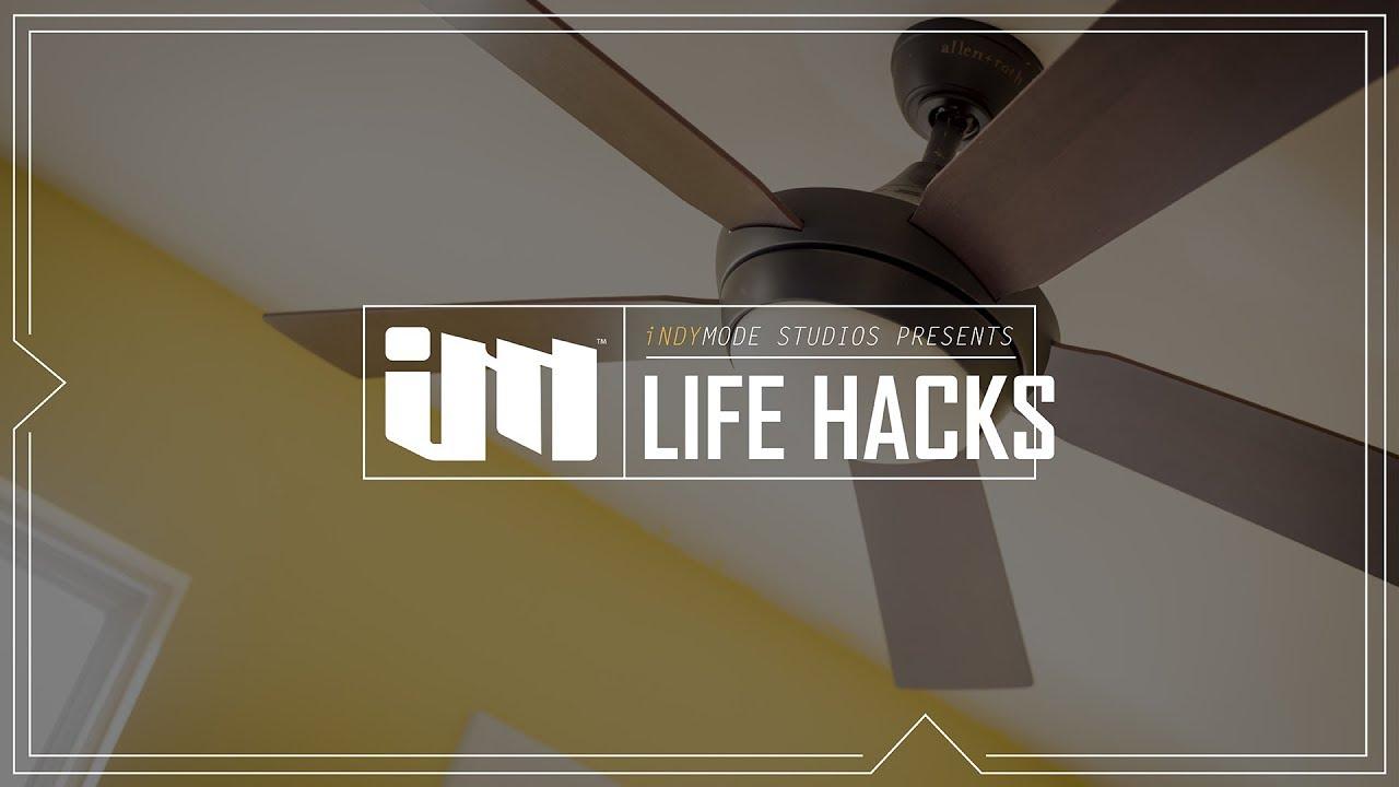 Replacing Ceiling Fan Light Bulbs